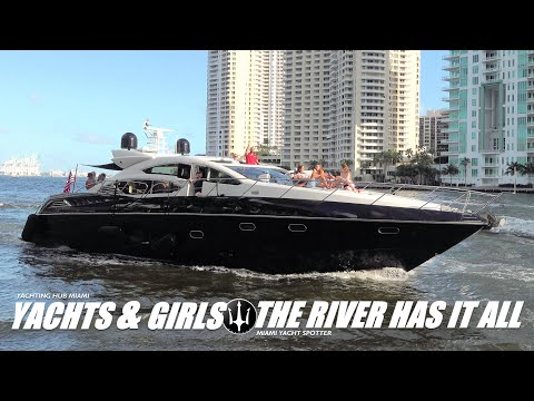 The river is always wild / from haulover to the miami river we bring you only the best yachts!