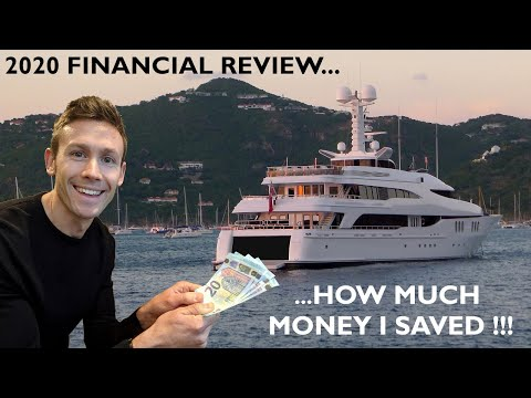 How much of my super yacht crew salary i saved working on yachts in 2020