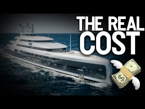How much it really cost to own a super yacht!