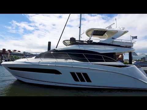 2016 sea ray 510 flyrbridge yacht for sale at marinemax baltimore