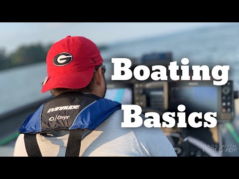 Boating for beginners - boating basics - how to drive a boat