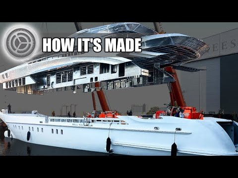How its made luxury yacht
