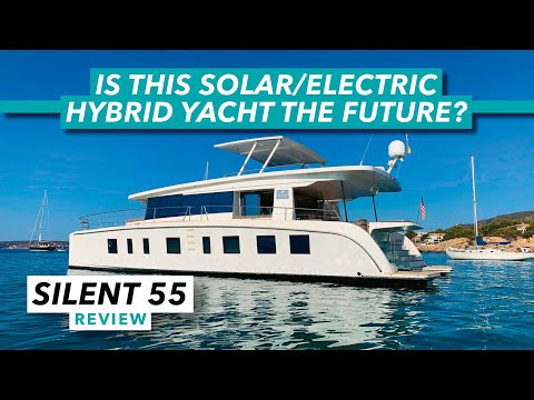 Silent yachts 55 review | is this solar/electric hybrid yacht the future? | motor boat & yachting