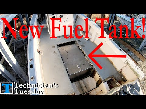 Does your boat need a new fuel tank? let's install one!
