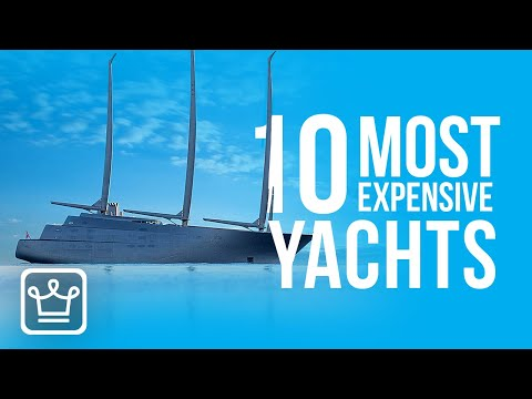 Top 10 most expensive yachts in the world   2020