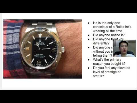 Wearing a 45,000 rolex watch (yacht master 2) - does anyone really care?