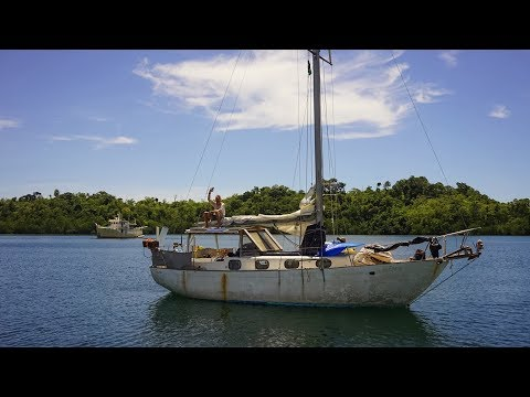 Buy a 30ft boat & cross the pacific for less than 13k, they did! - sailing nandji, ep 68