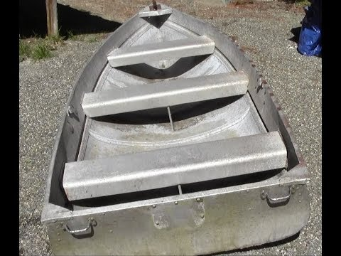How to repair aluminum boat seams, tears, and holes with super alloy 5 and an oxyacetylene torch