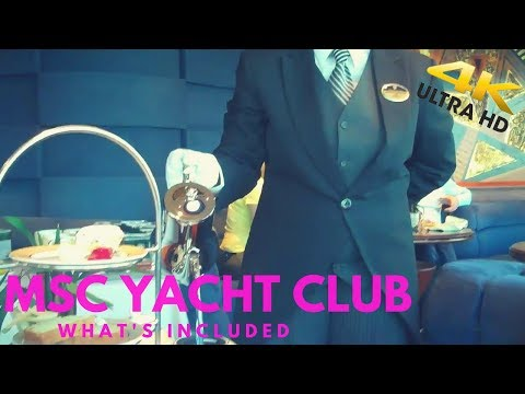 Msc yacht club - what's included