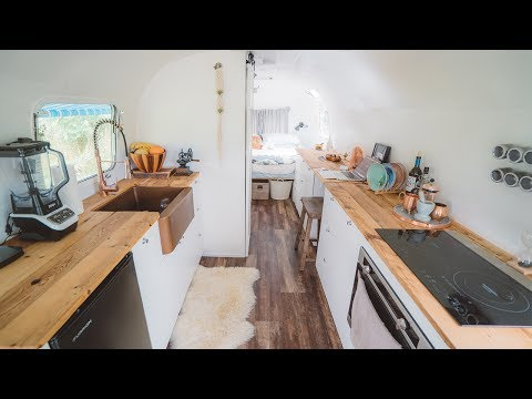 Airstream renovation | before & after