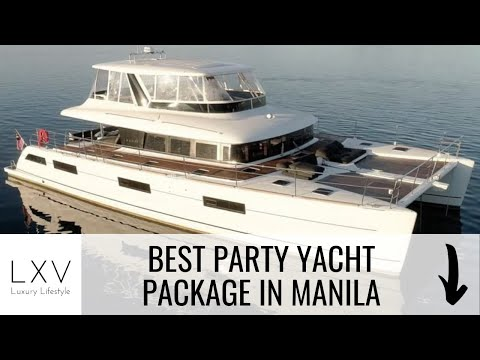 Best yacht party package in manila by the luxe guide & lxv