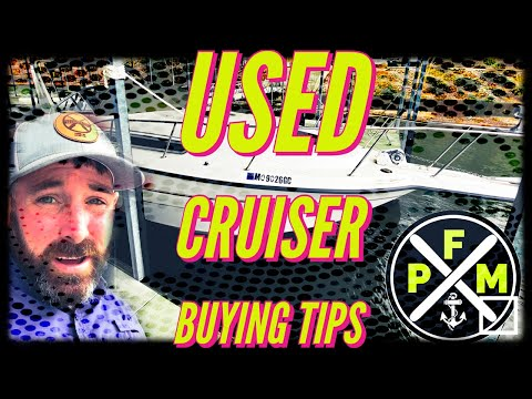 Used cruiser boat buying tips- 1997 chaparral 290