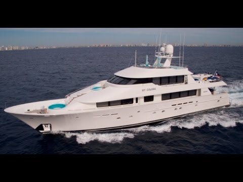 Price tag for luxury yacht and crew for 1 week