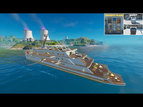 How to steal security plans from the yacht | fortnite battle royale