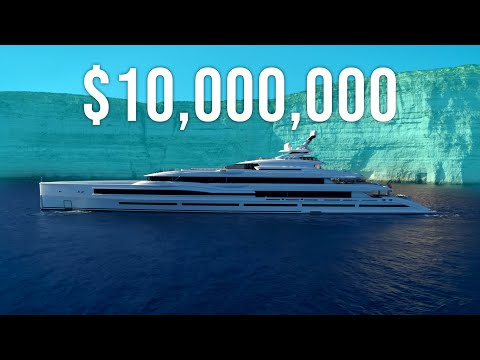 The real cost of owning a superyacht.