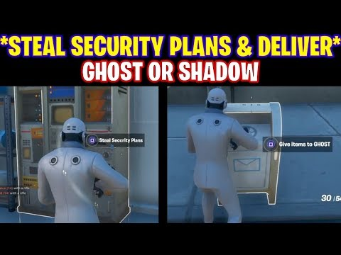 Steal security plans from the rig, the yacht or the shark and deliver fortnite season 2