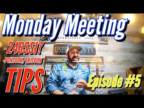 Used boat tips and tricks -monday meeting ep. #5