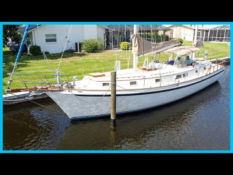Big 52' yacht, affordable price tag - is she worth it? [full tour] learning the lines