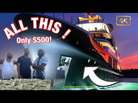 Renting a $5 million dollar yacht in miami for labor day weekend | low cost yacht rentals 🛥