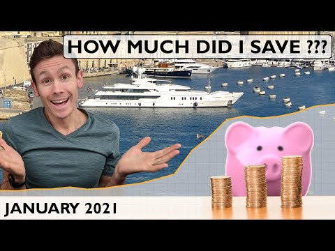 Yacht crew savings report, january 2021   how much of my super yacht crew pay did i save???