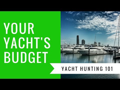 How much does it cost to buy a yacht, and how to budget!