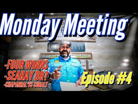 Used boat tips and tricks -monday meeting ep. #4