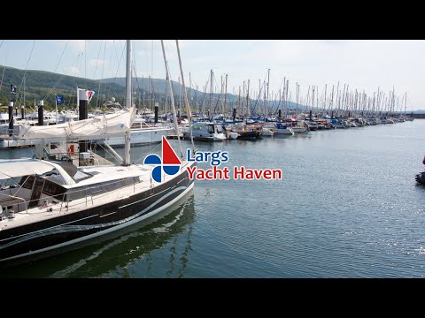 Largs yacht haven - how to access the marina