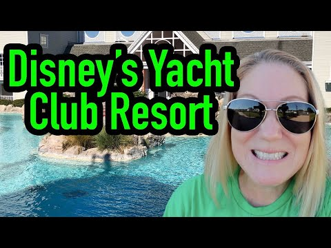 Checking in to disney's yacht club resort at disney world room and resort tour