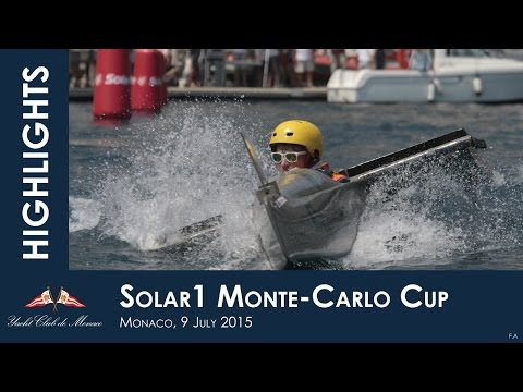 Solar 1 monte carlo cup powered by the ycm - view from inside - day 1