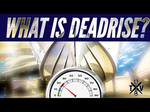 What does deadrise mean for boats?