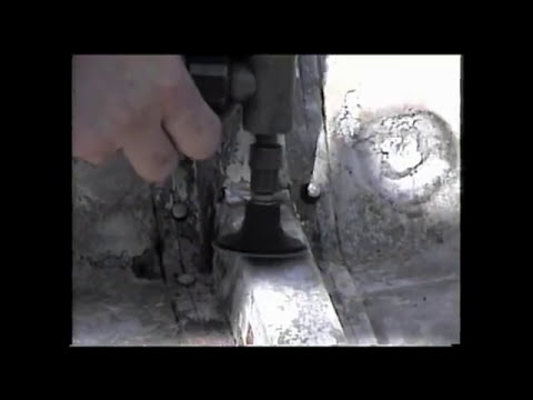 Easily repair your aluminum boat holes with super alloy 5 and oxyacetylene