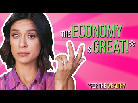 If the economy is great, why aren't we?
