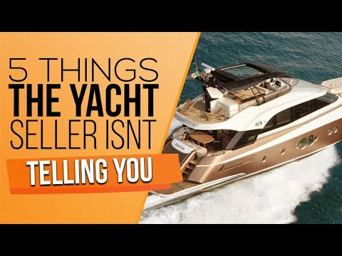 Buying a yacht? what you need to know