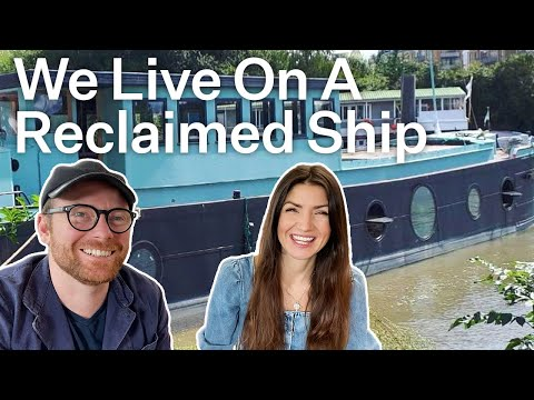 Living in a glamorous renovated ship | relocated