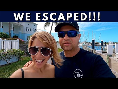Our getaway from charter yacht crew life in the great exuma, bahamas