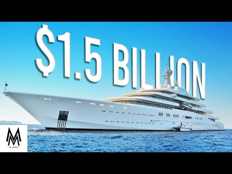 The most expensive yacht is worth $1.5 billion