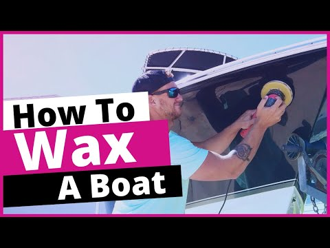 How to wax a boat | boat detailing tutorial