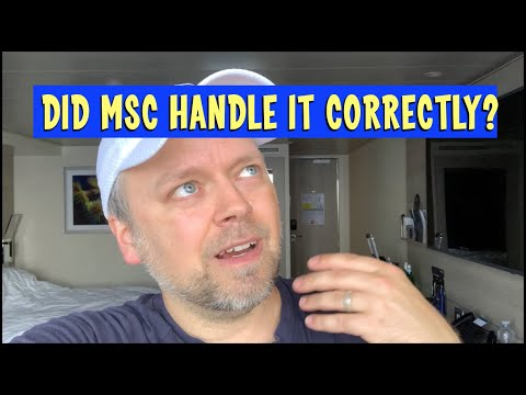 """The """"burrito situation"""" - msc yacht club cruise dining fiasco - is this good service?"""