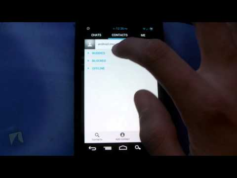 Imo instant messaging by imo   droidshark.com video review for android