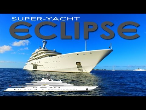 Superyacht eclipse ~ roman abramovich ~ second largest private yacht in the world ~ webeyachting.com