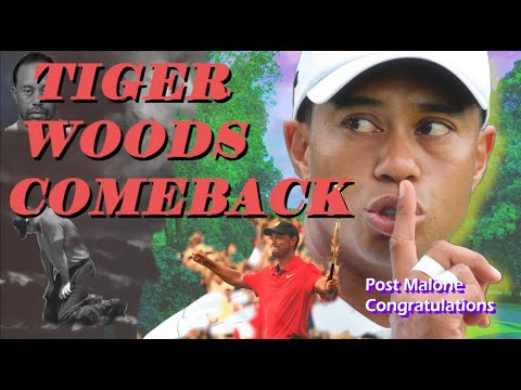 ⛳tiger woods - comeback - post malone - proving haters wrong - hd