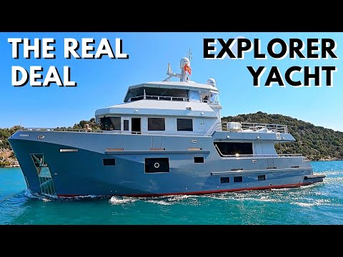 2021 bering 77 explorer yacht tour / comfort class expedition liveaboard go anywhere world cruiser