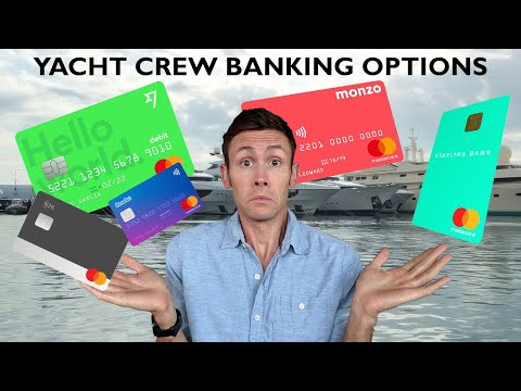 Yacht crew banking options to help make the most of your salary whilst working on a super yacht