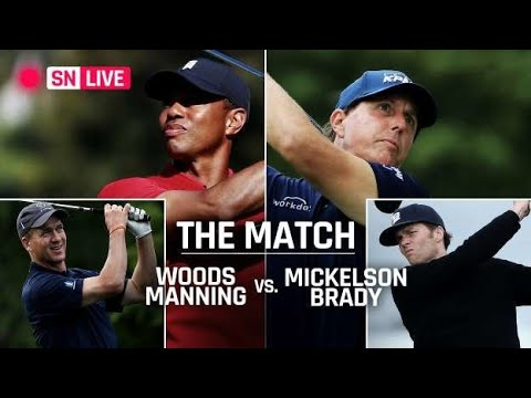 Tiger woods vs phil mickelson match primer start time, format, event rules with tom brady, peyt